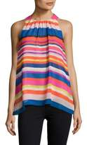Vince Camuto Sleeveless Colorblock Top
