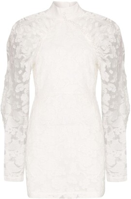 Rotate by Birger Christensen Kim high neck floral dress