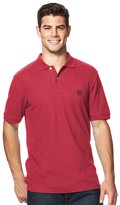 Chaps Big & Tall Classic-Fit Pique Polo