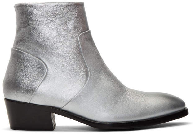 Tiger of Sweden Silver Ziggy Boots