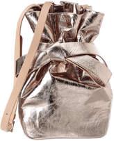 Jimmy Choo Eve Leather Bucket Bag