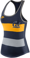 Nike Women's California Golden Bears Stripe Tank Top