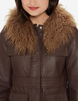 The Limited Mongolian Faux Fur Collar