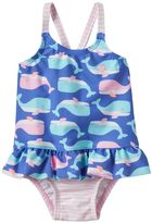 Carter's Baby Girl Whale & Stripe One-Piece Swimsuit