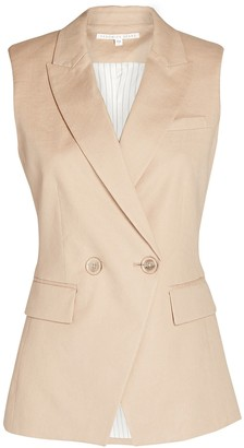 Veronica Beard Anouka Double-Breasted Vest