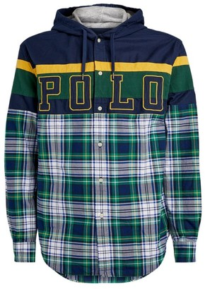 Ralph Lauren Hooded Check Logo Shirt