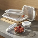 Crate & Barrel Anchor Hocking ® Bake and Store 10-Piece Set