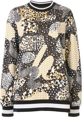Dolce & Gabbana Contrast Print Sweatshirt