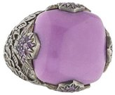 Stephen Dweck Sugilite & Amethyst Cocktail Ring