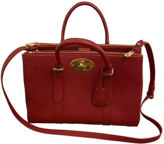 Mulberry Bayswater tote Red Leather Handbags