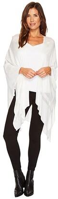 Lauren Ralph Lauren Eliza Ruana (Antique Ivory) Women's Sweater
