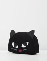 Lulu Guinness Kooky Cat Crescent Large Pouch
