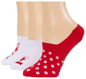 Columbia PFG Sail Boat Liner (Red Lily/Assorted) Women's Crew Cut Socks Shoes
