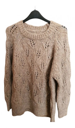 Toast Beige Wool Knitwear