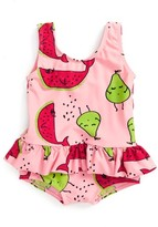 Infant Girl's Sookibaby Fruity Pie Skirted One-Piece Swimsuit