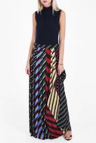 Mary Katrantzou Nicks Long Pleated Skirt