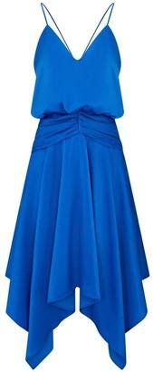 Aidan Mattox Charmeuse Cocktail Dress
