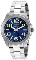 Invicta Men's 21443SYB Specialty Analog Display Quartz Silver Watch