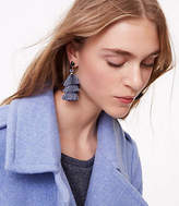 LOFT Tiered Tassel Earrings