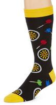 Asstd National Brand Cubic Foot Dart Board Crew Socks