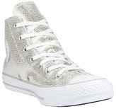 Converse Chuck Taylor All Star Stingray Metallic Hi Basketball Shoe 5.5 Women US