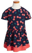 Little Marc Jacobs Girl's Cherry Print Popover Dress