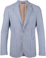 Fay striped blazer
