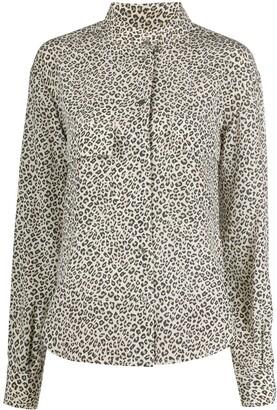 Frame Leopard-Print Shirt