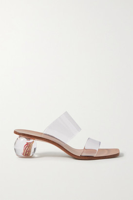 Cult Gaia Jila Flower Pvc Sandals - Clear