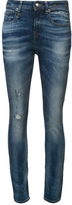 R 13 Mid Rise Skinny Jeans
