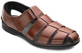 To Boot Men's Santorini Leather Fisherman Sandals