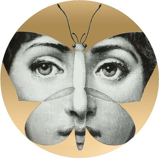 Fornasetti butterfly face print plate