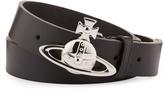 Vivienne Westwood Orb Buckle Belt 82010004 Black