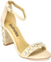 Footnotes Best - Suede Pearl Heel
