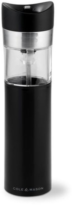 Cole & Mason Cole Mason Penrose Electronic 210 Mm Pepper And Salt Grinder - Black/Glass