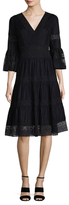 Temperley London Lace Flared Dress