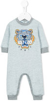 Kenzo Tiger embroidered romper - kids - Cotton/Polyester - 3 mth