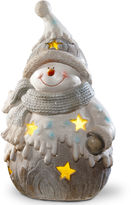 National Tree Co 17i Lighted Snowman Dcor Piece