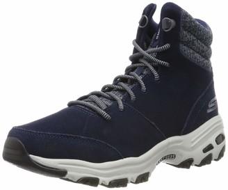 Skechers Women's D'Lites-CHILL Flurry Ankle Boots