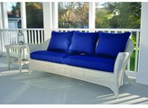 The Well Appointed House Kingsley Bate Cape Cod Wicker Deep Seating Sofa-Available in Six Different Colors-ON BACKORDER UNTIL JUNE 2016
