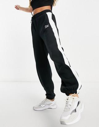 Puma Classics T7 joggers in black