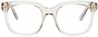 Tom Ford Pink Blue Block Square Glasses