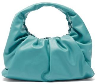 Bottega Veneta The Shoulder Pouch Small Leather Bag - Light Blue