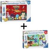 Ravensburger Pokemon Puzzle - Twin Pack