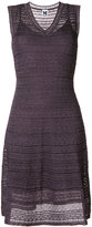 M Missoni layered lace knit sleeveless dress