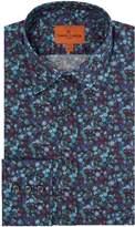 Simon Carter Men's Liberty Winter Berry Print Shirt