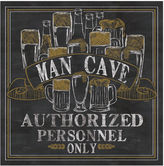 Thirstystone Man Cave Set of 4 Coasters
