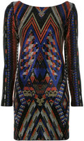 Balmain crystal embellished mini dress - women - Spandex/Elastane/Viscose/glass - 36