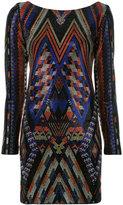 Balmain crystal embellished mini dress - women - Viscose/Spandex/Elastane/glass - 36