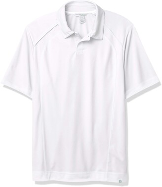 Ashe City Men's Recycled Polyester Performance Pique Short Sleeve Polo Shirt